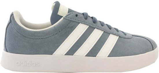 02710326dc4 bol.com | Adidas VL Court 2.0 lichtblauw sneakers dames - Maat 38 2/3