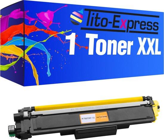 PlatinumSerie® 1 toner XXL yellow alternatief voor Brother TN-243 TN 247