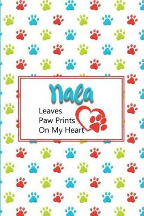 Nala Leaves Paw Prints on My Heart