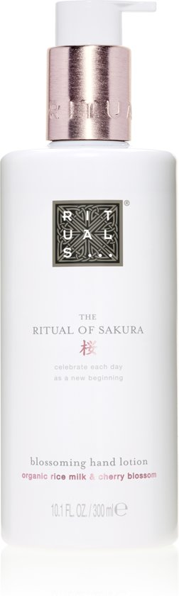 The Ritual of Sakura Hand Lotion