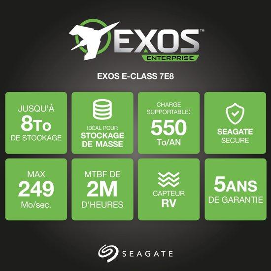 Seagate Enterprise - Interne harde schijf - 6 TB