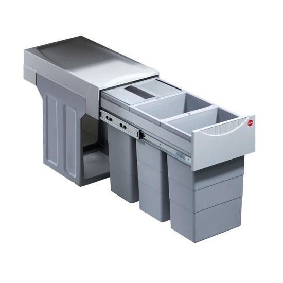 Hailo Tandem 30 liter inbouw afvalbak 3666-84