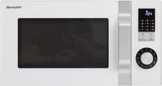 Sharp R244W - Solo Magnetron - Wit