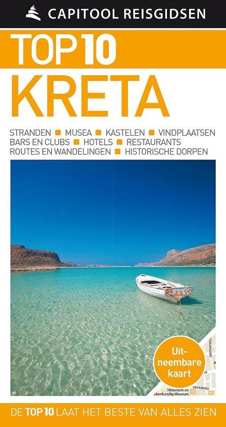Boek cover Capitool Reisgidsen Top 10 - Kreta van Capitool (Paperback)