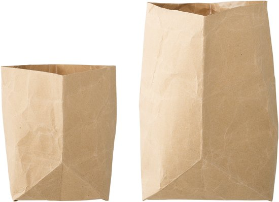 De Papieren Zak : Bol bloomingville papieren zakken voor decoratie