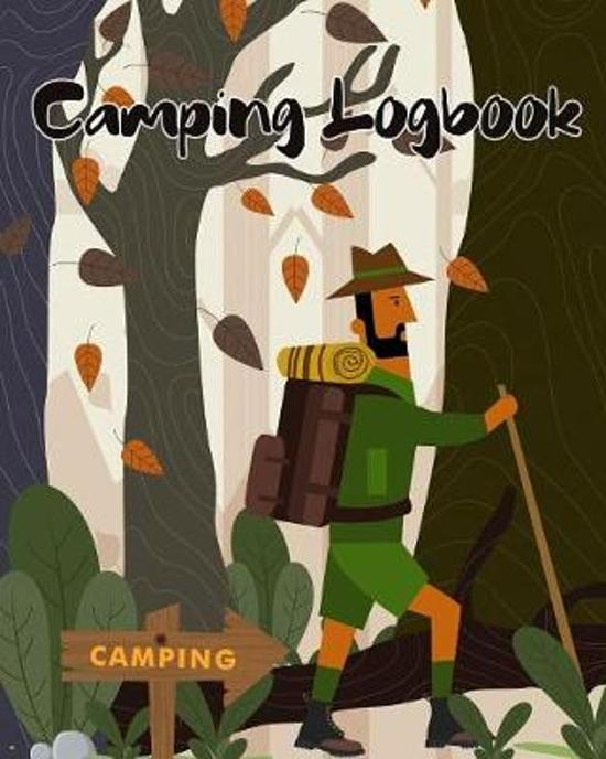 Camping Logbook: Cute Outdoor Camping Journal Travel Activity Planner Notebook - RV Logbook Hiking Checklist Keepsake Memories For Kids
