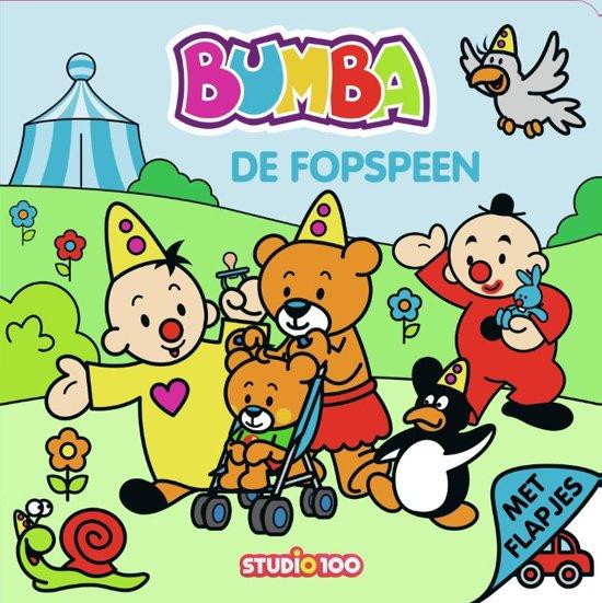 Boek cover Bumba - De fopspeen van Gert Verhulst (Hardcover)