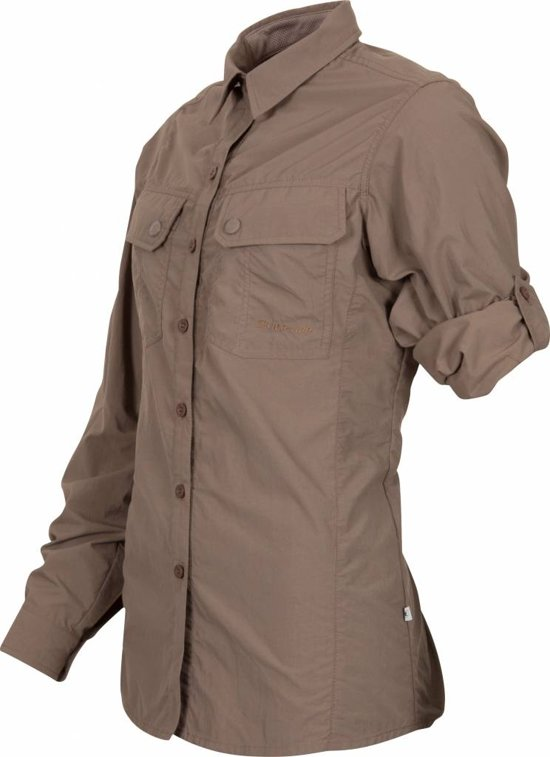 Blouse Samani Dames Life line Insect Taupe Anti qIHUnw4