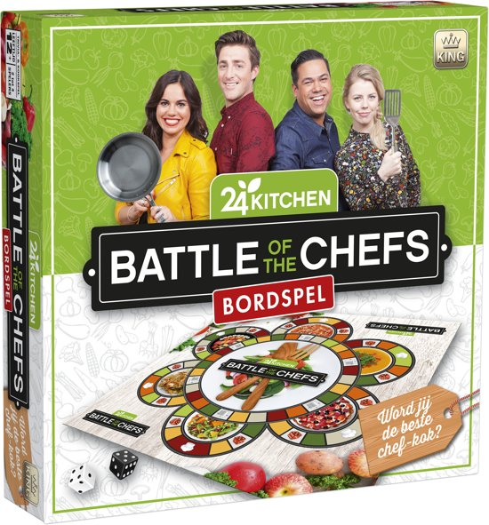 24Kitchen Battle of the Chefs gezelschapsspel