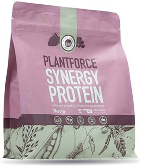 Third Wave Nutrition Plantforce Synergy Proteïne - Berry - 400 gram