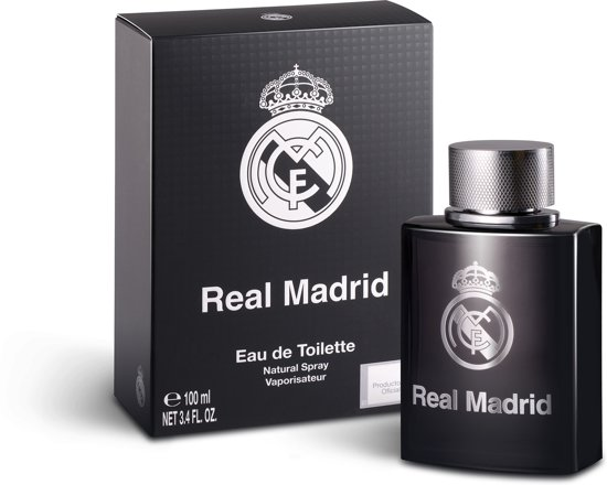 Real Madrid C.F. Real Madrid Black Eau de toilette spray 100 ml