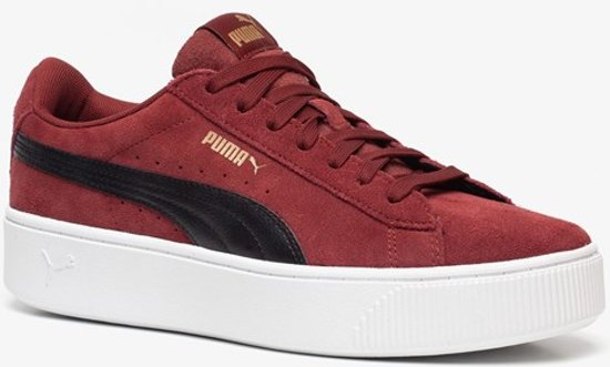 Puma Vikky Stacked dames sneakers - Rood - Maat 39