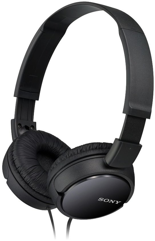 Sony MDR-ZX110 - On-ear koptelefoon - Zwart