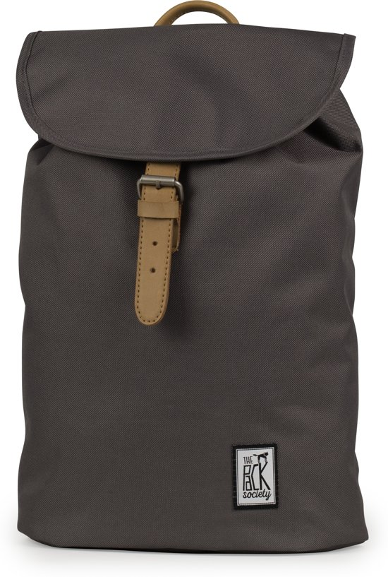 The Pack Society Small Rugzak - Solid Charcoal