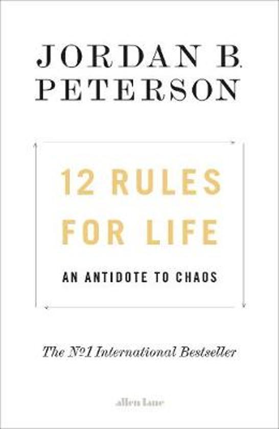 Boek cover 12 Rules for Life van Jordan Peterson (Hardcover)
