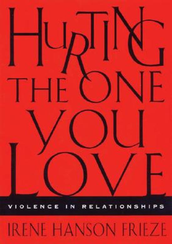 Bolcom Hurting The One You Love 9780534633165 Irene Hanson