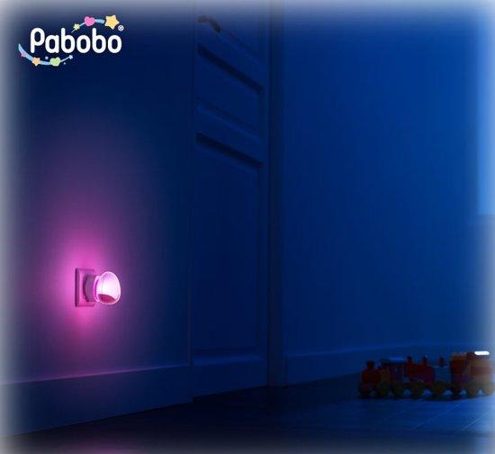 Pabobo - Roze - Automatisch nachtlampje - Automatisch - Hoe donkerder, hoe harder hij brandt!