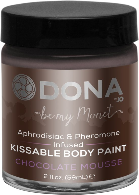 Dona Body Paint Chocolade Mousse - 60 ml