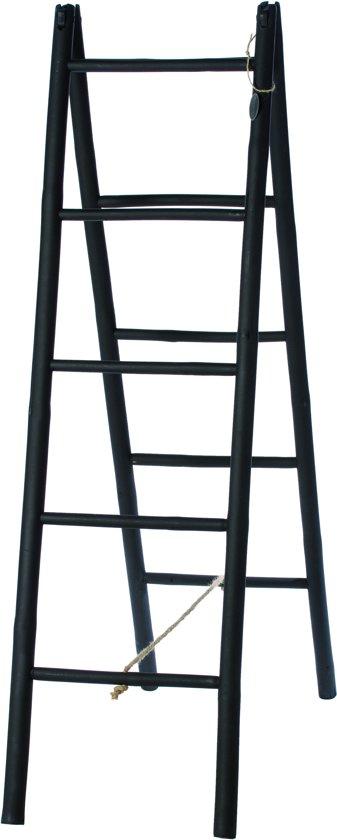 Riverdale Bamboo - Rek - Zwart - 150 cm