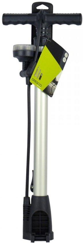 Dresco - Fietspomp - Manometer - Max 11 bar - Zwart