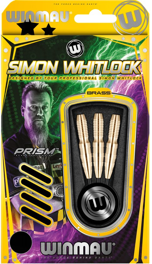 Winmau Simon Whitlock brass steeltip darts 22gr