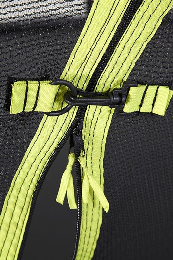Trampoline en veiligheidsnet Whirlwind Plum 8ft