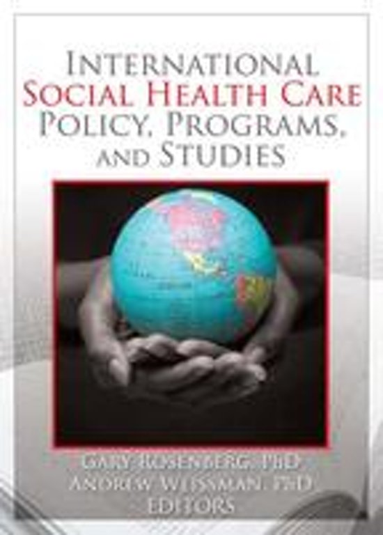 international health care policies Introduction almost the entire cost of health care in the developing world is borne by the developing countries themselves according to two separate estimates, aid from international health organizations in the developed countries pays for less than 5% of the total health care costs in the developing world.