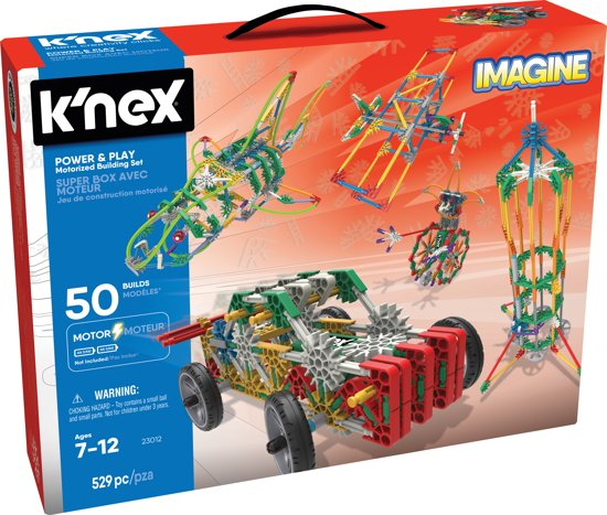 K'NEX Power And Play 50 Model Motorized - Bouwset