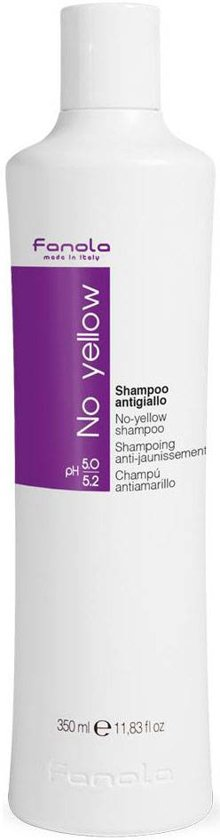 Fanola No Yellow Zilvershampoo - 350ml