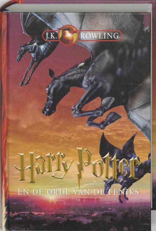 Cover van het boek 'Harry Potter en de Orde van de Feniks' van J.K. Rowling