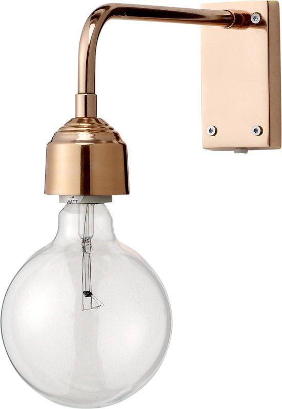bol bloomingville wandlamp koper