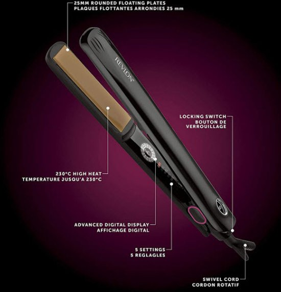 Revlon - RVST 2167 E - Salon One-Pass Digital Styler