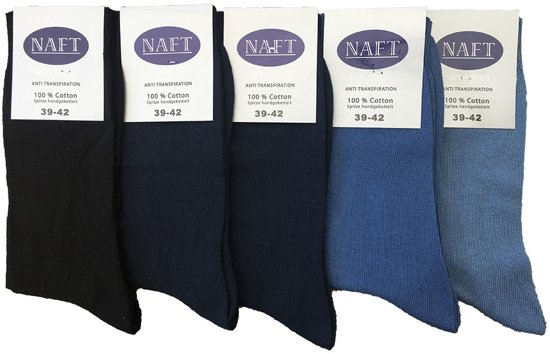 Katoenen sokken 100% jeans