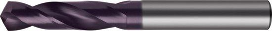 Korte boor D6539N VHM 5,10mm TiAlN FORMAT