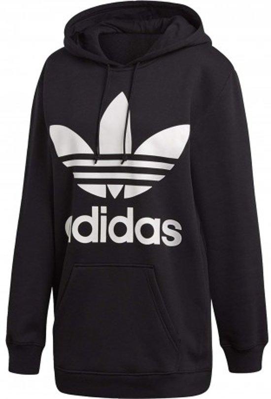 9d23c58d bol.com   adidas Originals Trefoil Hoodie Sporttrui Dames - Black