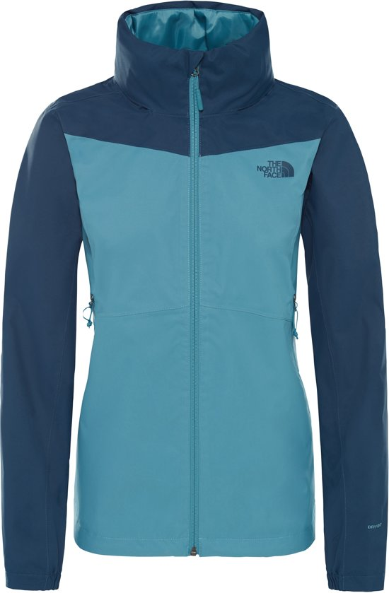The North Face Resolve Plus Jacket Jas Dames Storm Blue Blue Wing Teal