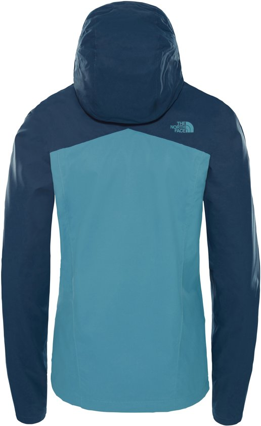 Resolve Face Jacket The Storm Plus Wing Teal Dames Blue Jas North 5fEEIqw
