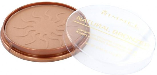 Rimmel London Natural Bronzing Bronzingpoeder - 022 Sun Bronze - Watervast