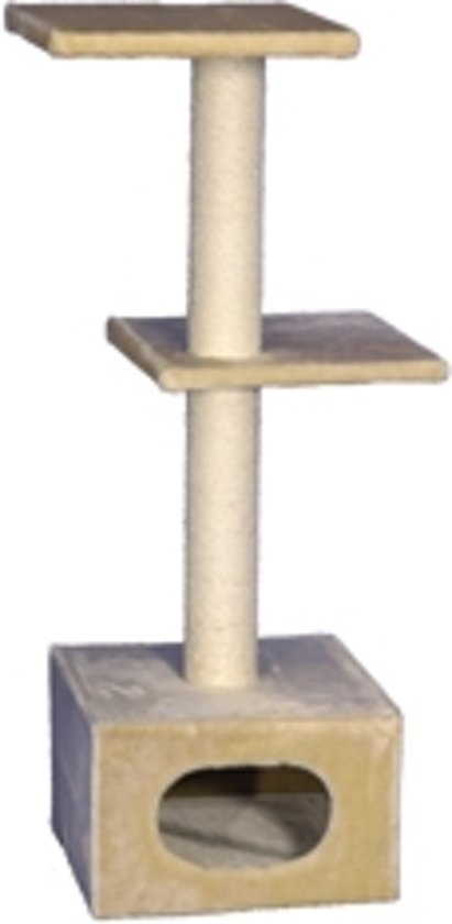 Nobby krabmeubel exclusive 1 beige 38 x 38 x 108 cm - 1 st