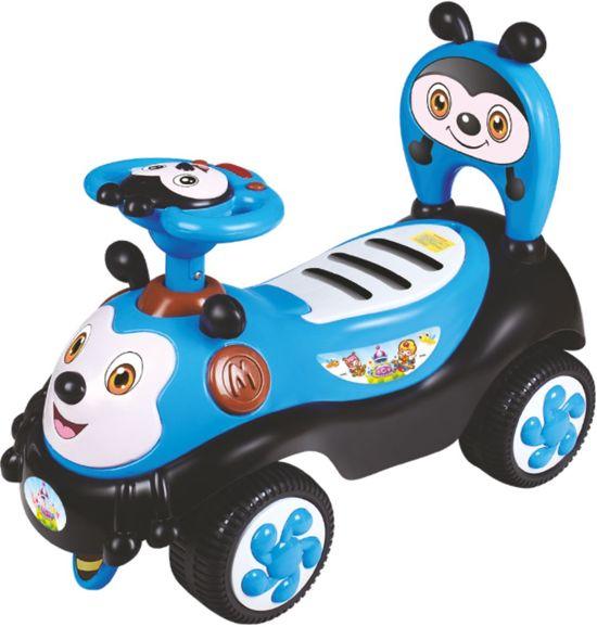 Baby Mix - Loopauto - Vrolijke Bij - Blauw