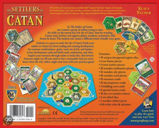 Settlers of Catan 4th Edition