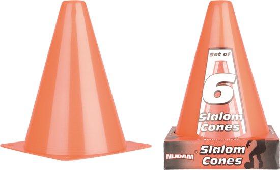 Nijdam Slalompionnen - 18 cm - Soft - Oranje