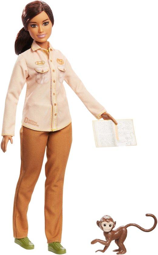 Barbie National Geographic Natuurbeschermer - Barbiepop