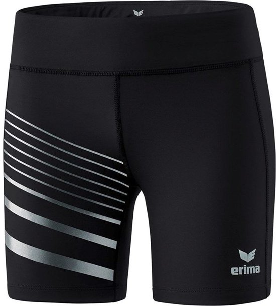 Erima Race Line 2.0 Dames Tight - Shorts  - zwart - 40
