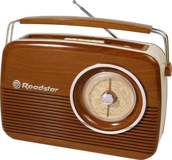 Roadstar TRA-1957WD radio Draagbaar Analoog Bruin
