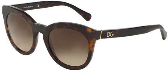 4c20884d76b Dolce   Gabbana DG4249 502 13 - Zonnebril - Bruin