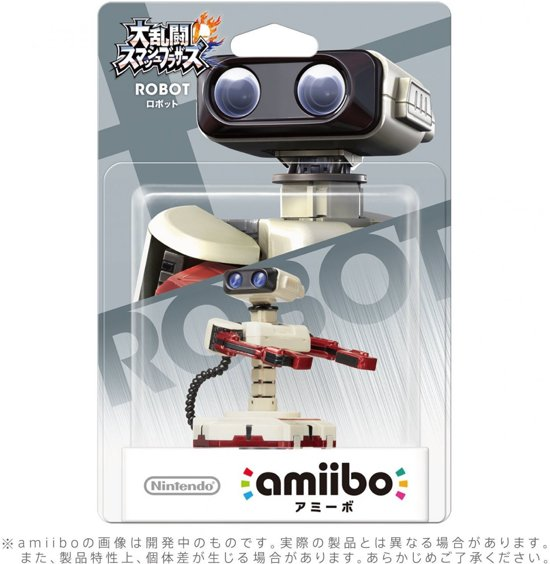 Nintendo amiibo Super Smash Figuur - Rob - Wii U + NEW 3DS kopen