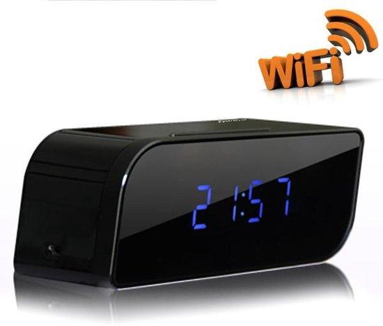 bol.com | WiFi IP Spy wekker klok met verborgen camera Full HD 1080P