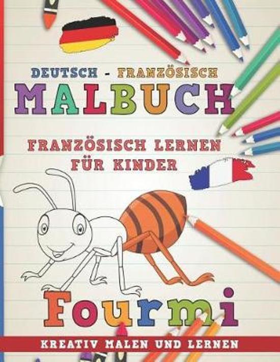 Malbuch Deutsch - Franz