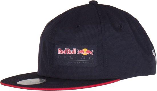 PUMA Red Bull Racing Lifestyle Flatbrim Cap Sportcap Unisex - Night Sky